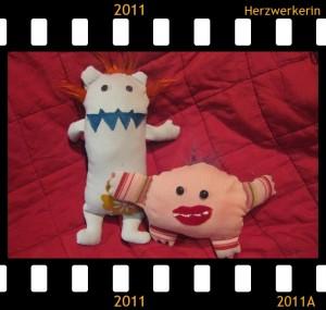 Elsa und Olaf zwei kleine Monster